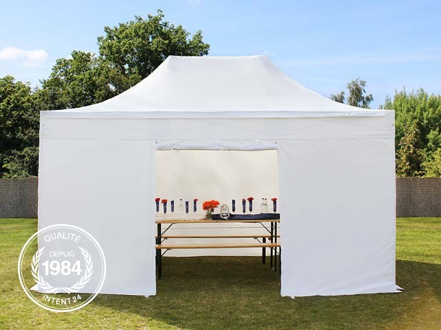 Tente reception pliable pliante evenement pro